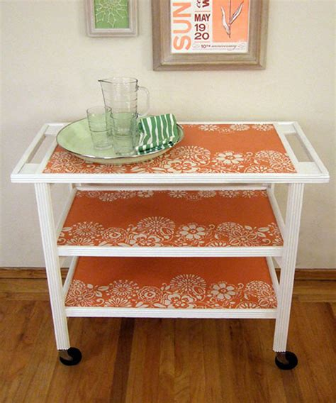 dining room serving carts wallpapered serving cart