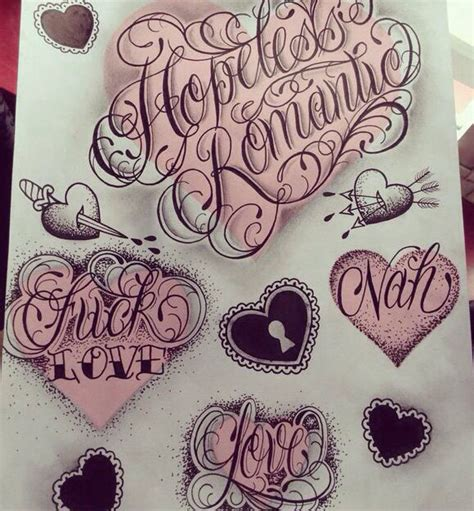 tattoo fonts with hearts 318 best flash images on glitter