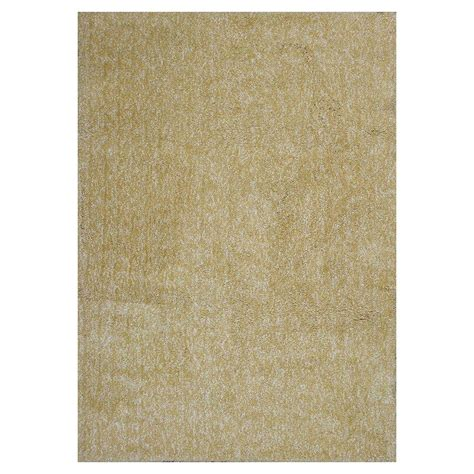 Cozy Area Rugs Home Decorators Collection Cozy Shag Yellow 8 Ft X 11 Ft Area Rug 0397250540 The