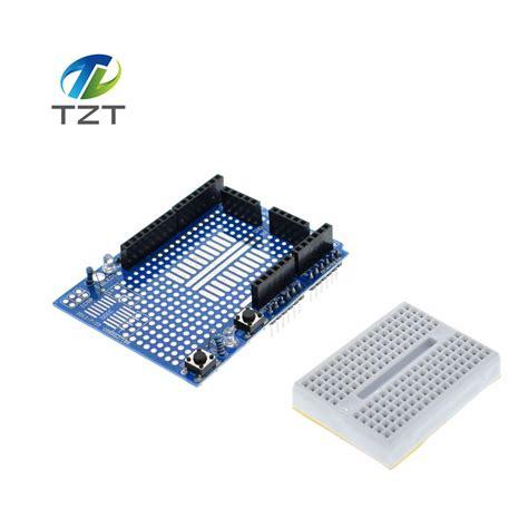 Syb 170 Small Breadboard Protoboard Projectboard 1pcs uno protoshield prototype expansion board with syb 170 mini breadboard based for arduino