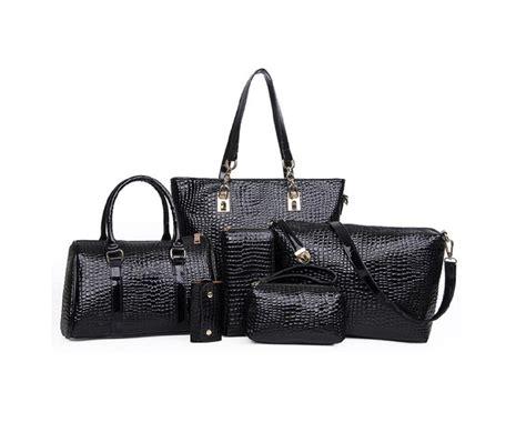 Leather Bag De Valeur 1 49 for a 6 leather handbag set buytopia
