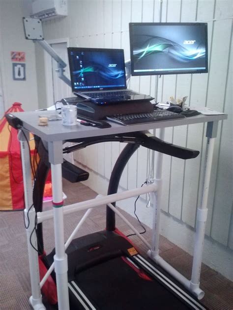 Diy Workstation Desk 17 Best Ideas About Treadmill Desk On Pinterest Standing Desks Diy Standing Desk And Stand Up