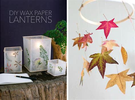 How To Make Wax Paper Lanterns - stickytiger the wonderful world of wax paper