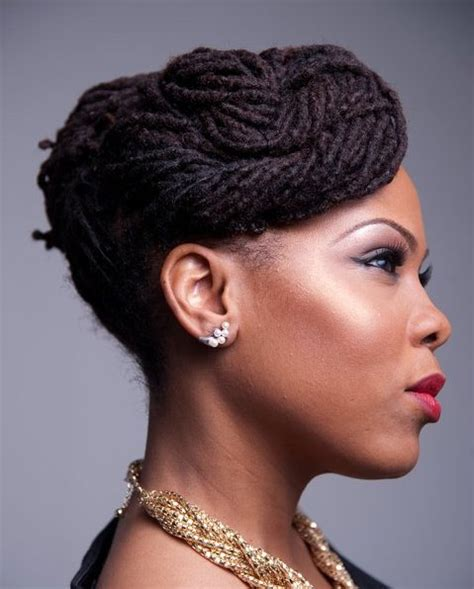 updo hairstyles for with locs hair locs loc d life magazine page 4
