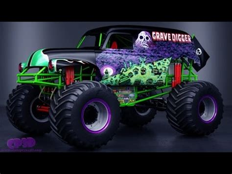 youtube videos of monster trucks monster trucks for children videos trucks for kids