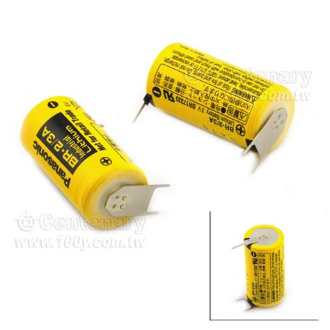 Panasonic Cr2 Original Battery Non Rechargeable br 2 3a tp panasonic 2pin 正 1pin 負 不可充電鋰電池 3v
