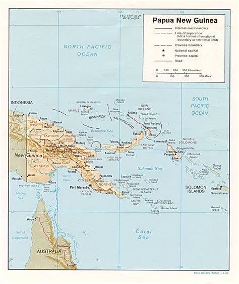 papua new guinea nationmaster maps of papua new guinea 28 in total