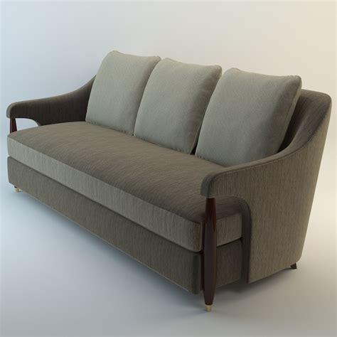 baker couch furniture 3d model baker hermano sofa
