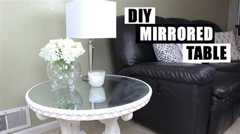diy mirror furniture   turn glass   mirror