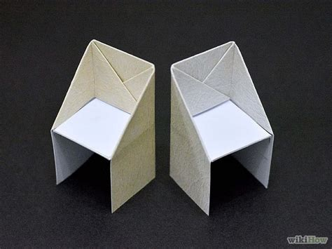 Easy Origami Chair - best 25 origami furniture ideas on industrial