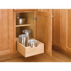 kitchen cabinet pull out rev a shelf 1 tier wood pull out cabinet basket lowe s