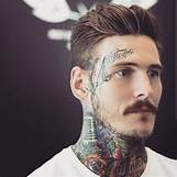 Mens Messy Slicked Back Hair | 650 x 650 jpeg 55kB