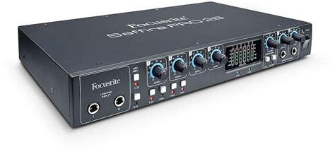 Sound Card Focusrite Saffire 6 Usb best deals on focusrite saffire pro 26 sound card compare prices on pricespy