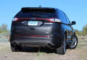 How Much Does A Ford Edge Cost 2016 Ford Edge Review And Price Sport Interior Release