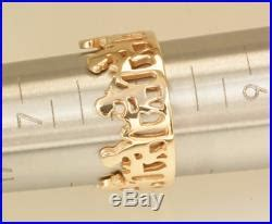 james avery printable ring size guide retired james avery 14k yellow gold children at school