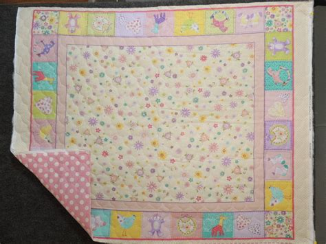 Quilted Baby Fabric by Reversible Baby Pre Quilted Quilt Top Fabric