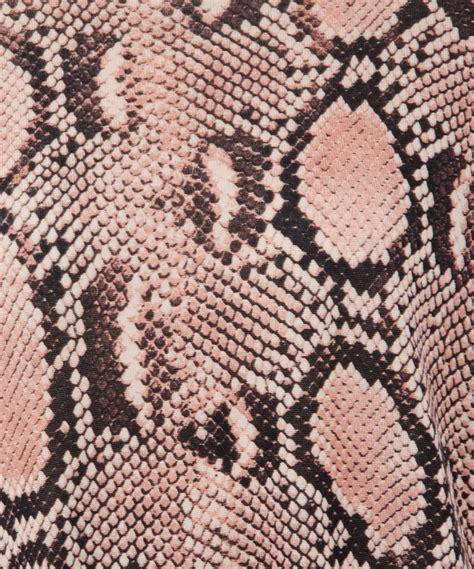 Snake Print stella mccartney pink snake print jumper in pink lyst