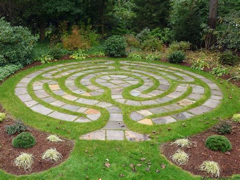 Chelsea The Labyrinth Company Garden Labyrinth Templates
