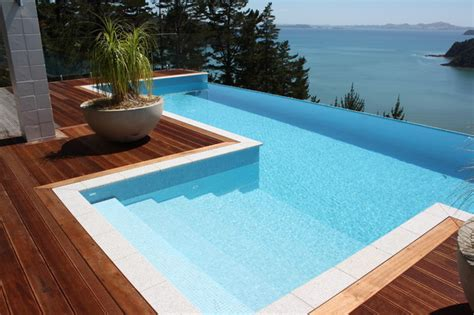 bisazza collection contemporary pool auckland by tile space new zealand