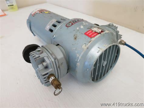 gast air compressor  hp  volts dc hbb