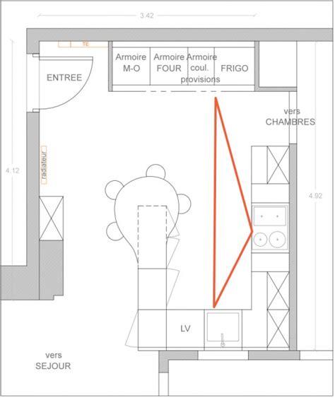 plan implantation cuisine comment optimiser le plan de sa cuisine le d 233 co