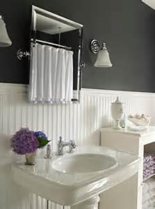 White beadboard bathroom design decor photos pictures