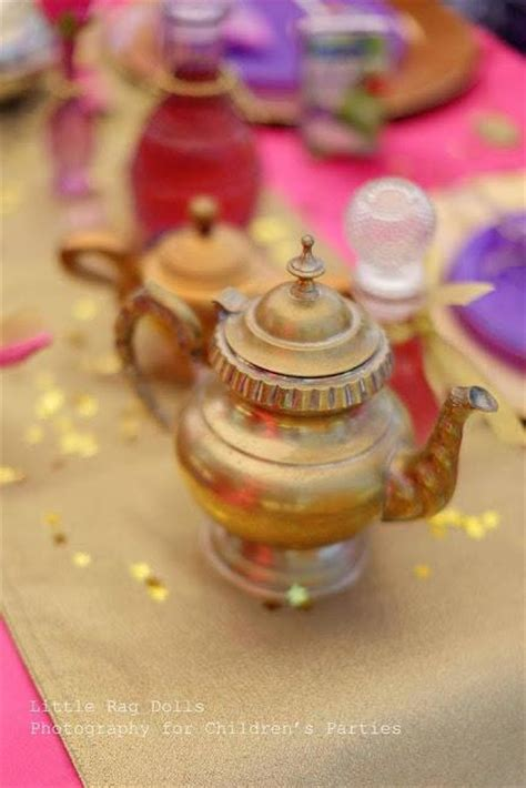 Genie L Favors by Marissa S Birthday An Arabian Nights Themed With A