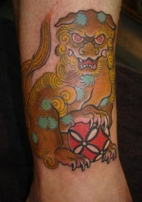 foo dog tattoo meaning foo tattoos designs ideas and meaning tattoos for you