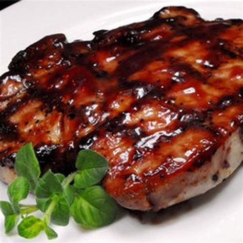 grilled pork loin chops recipe main dishes with garlic brown sugar honey soy sauce