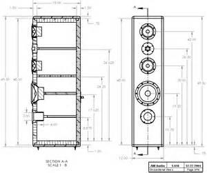 Transmission line speaker design diy on tower speaker box design