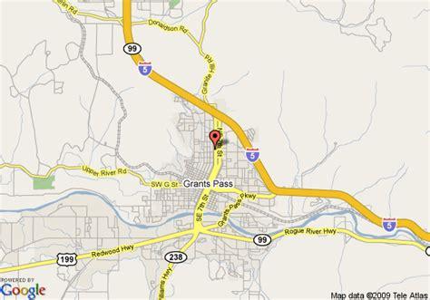 map of oregon grants pass map of bestway inn grants pass grants pass