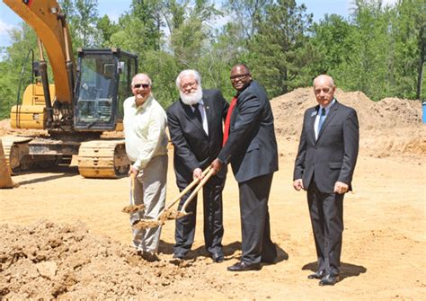 alabama housing finance authority groundbreaking held for apartment complex franklin county times