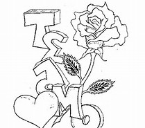 Te Amo Coloring Pages