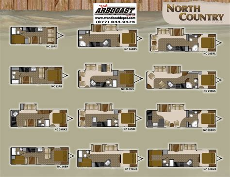 north country rv floor plans 2011 heartland north country brochure ohio