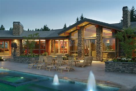 pacific northwest home designs both homes were designed
