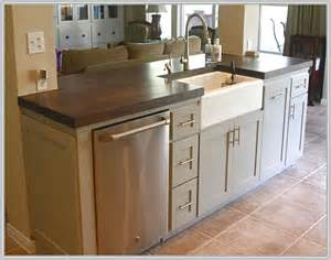 Kitchen Islands With Dishwasher small kitchen island with sink and dishwasher home design ideas