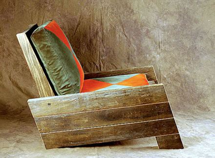 Furniture Made Of Reclaimed Wood by Brave New Leaf Recycling