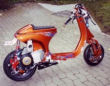 Modifikasi Motor Vespa