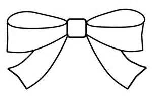 Bow clipart outline to colour 15cm wide this clipart draw