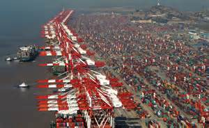 yangshan port shanghai free trade zone busiest container