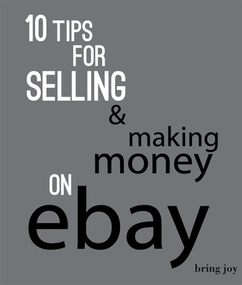 frugal tuesdays 10 tips for selling money on