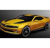 2012 Chevrolet Camaro Transformers 3 Special Edition Revealed