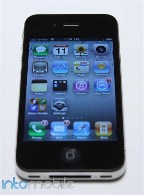 verizon i phone on the verizon iphone 4
