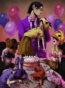 Fnaf purple guy and the dead children by ladyfiszi on deviantart