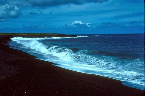 black sand beaches hawaii 15 most beautiful black sand beaches around the world cars 2015 pics hub