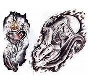 Evil Demon Tattoos5