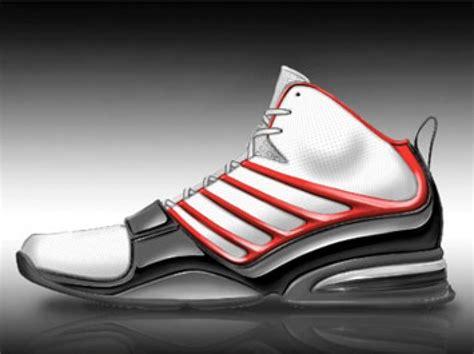 design a basketball shoe rendering a basketball shoe in sketchbook pro car