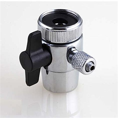 Water Filter Faucet Attachment by Diverter Valve For Counter Top Water Filters Faucet