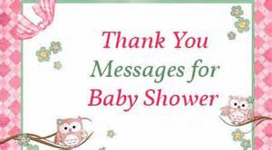 baby shower thanks message thank you messages for baby shower