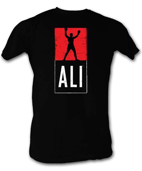 Muhammad Ali Black Shirt muhammad ali t shirt ali logo black shirt